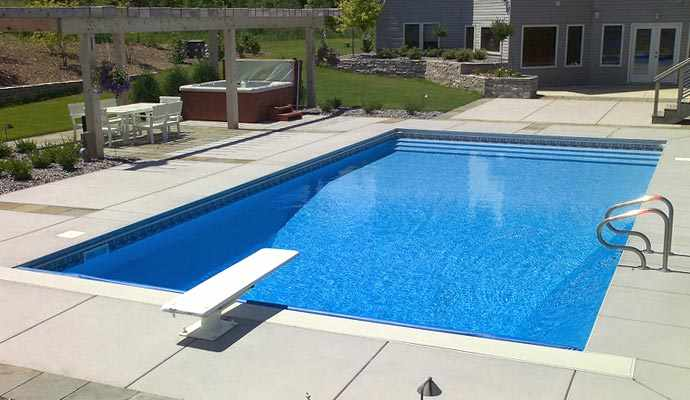 Inground swimming pools twin cities mn for Vinyl swimming pool