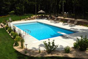 Back Yard Pool Construction