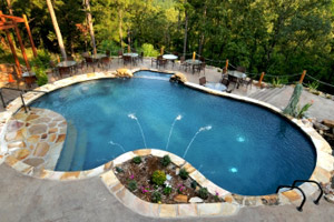 Gunite Swimming Pool Designs Fascinating Gunite Pool Construction Mn Inspiration Design