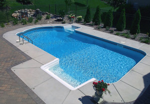 In-Ground Swimming Pool Installation Minneapolis MN