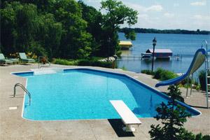 Inground pool construction mn for Pool design mn