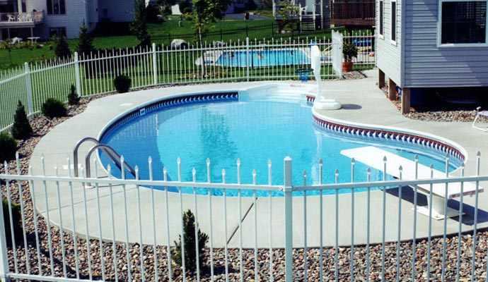 Custom Shaped Swimming Pools Mn