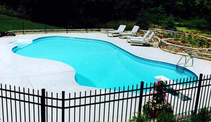 Custom Shaped Swimming Pools Mn