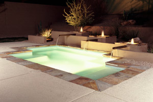 swimming pool lighting options. MN In-Ground Pools \u003e\u003e Lighting Options. Swimming Pool Options E